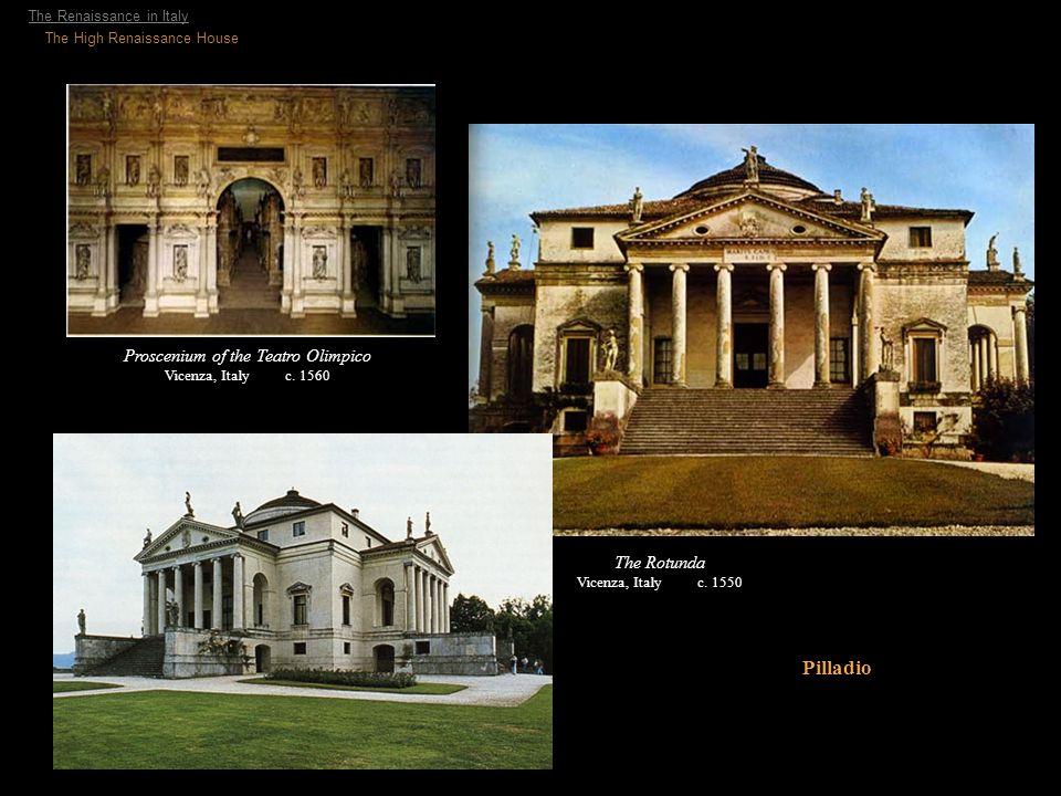Proscenium of the Teatro Olimpico