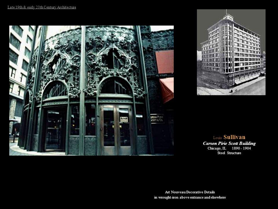 Carson Pirie Scott Building