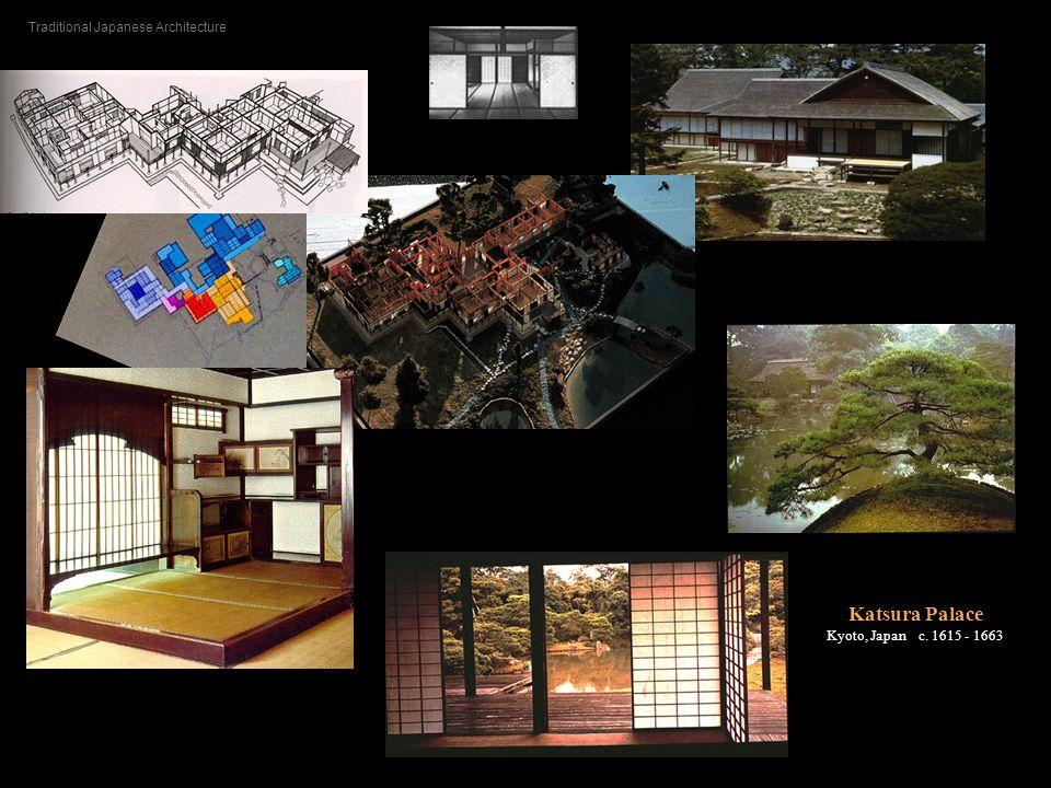 Katsura Palace Kyoto, Japan c. 1615 - 1663