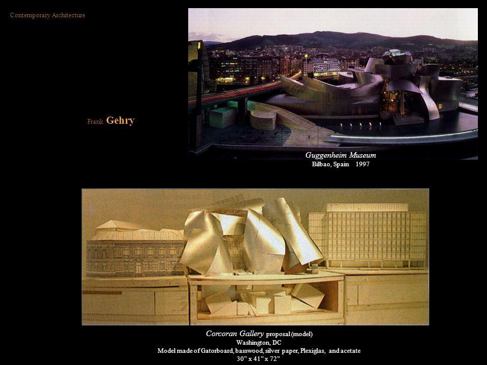 Corcoran Gallery proposal (model)