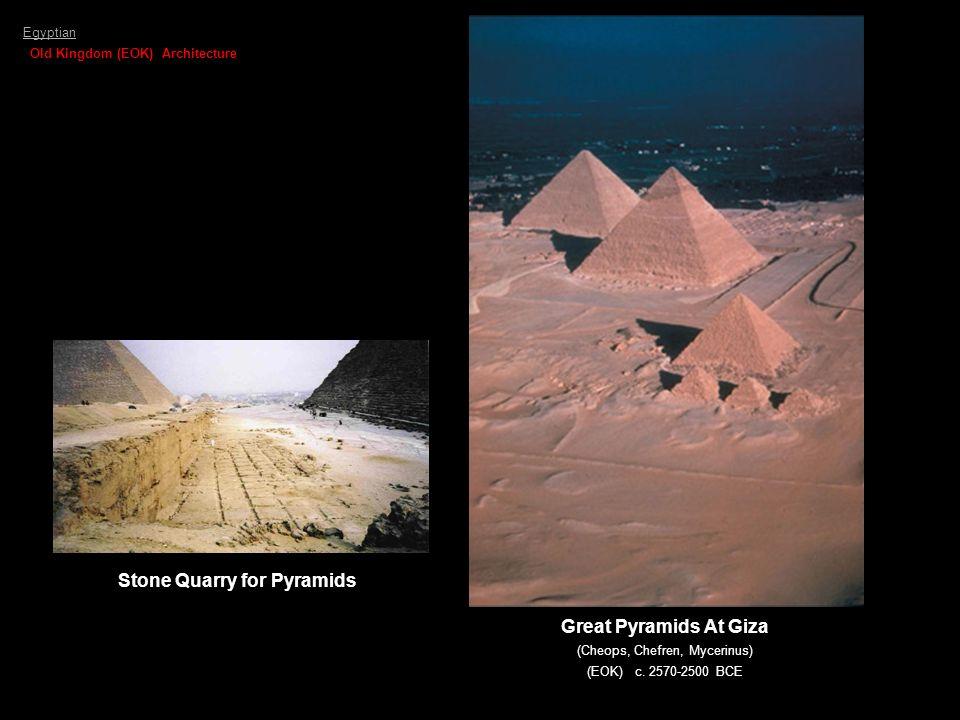 Stone Quarry for Pyramids
