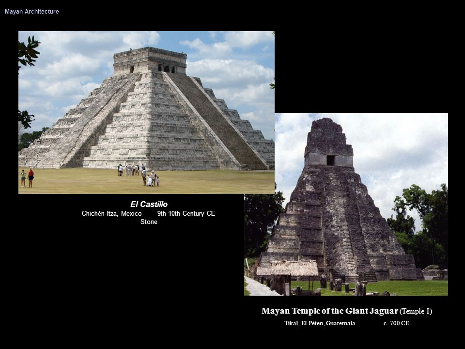 Mayan Temple of the Giant Jaguar (Temple I)