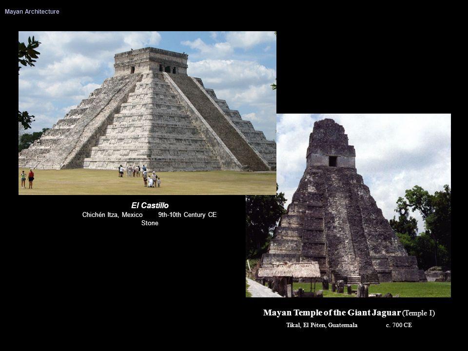Mayan Temple of the Giant Jaguar (Temple I)