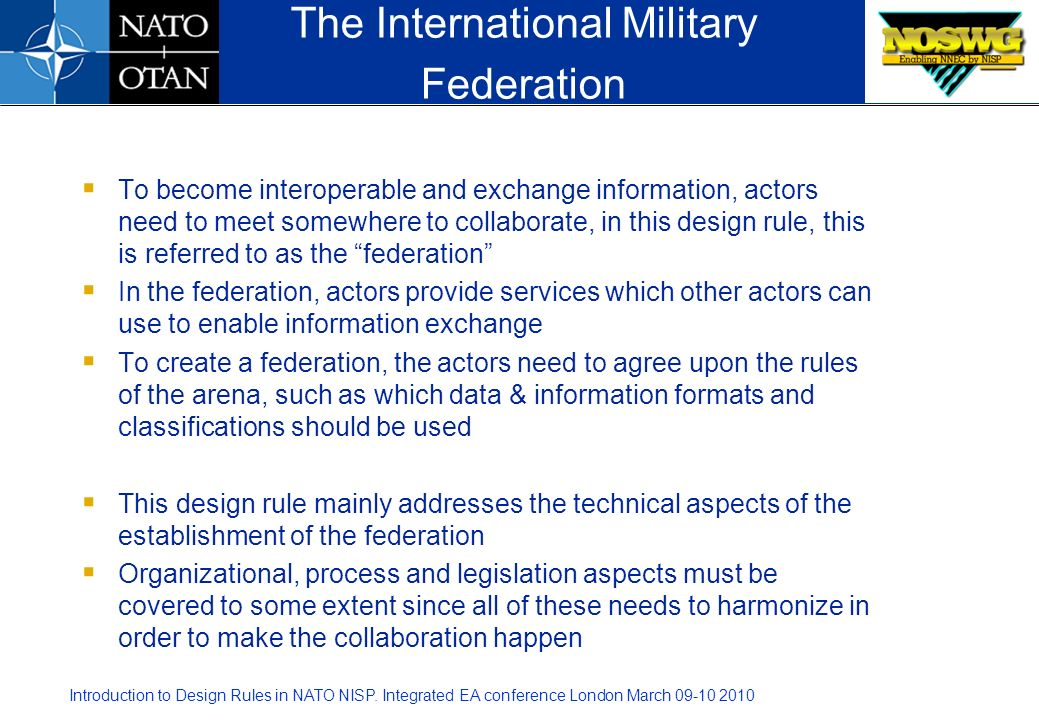 The International Military Federation