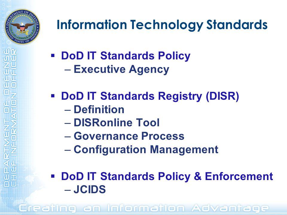 Information Technology Standards