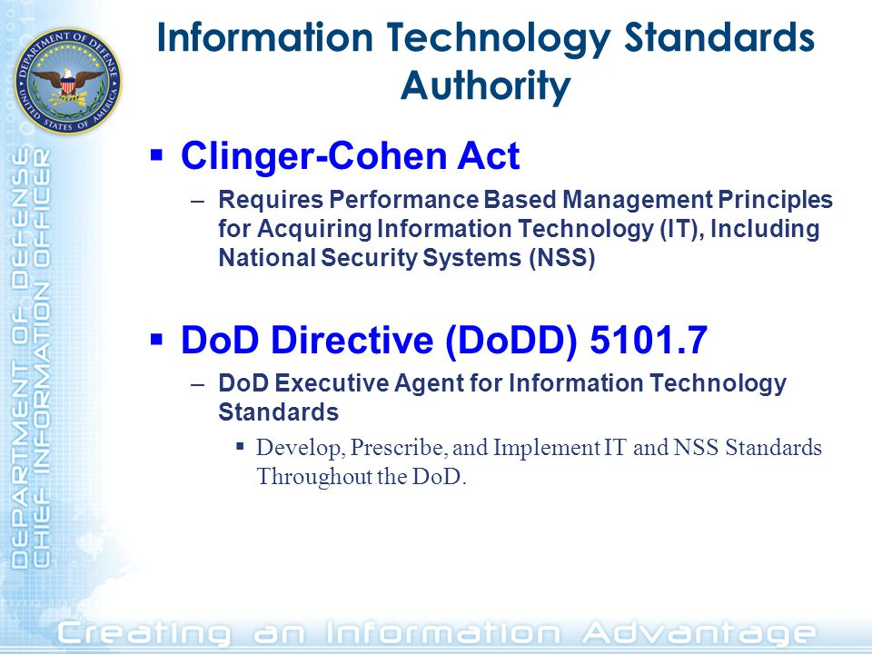 Information Technology Standards Authority