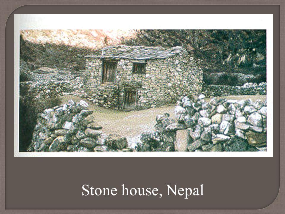 Stone house, Nepal