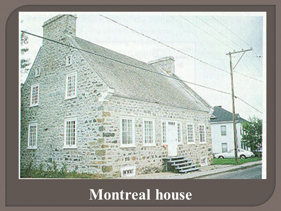 Montreal house