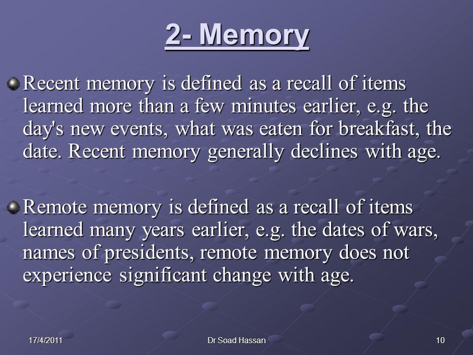 2- Memory