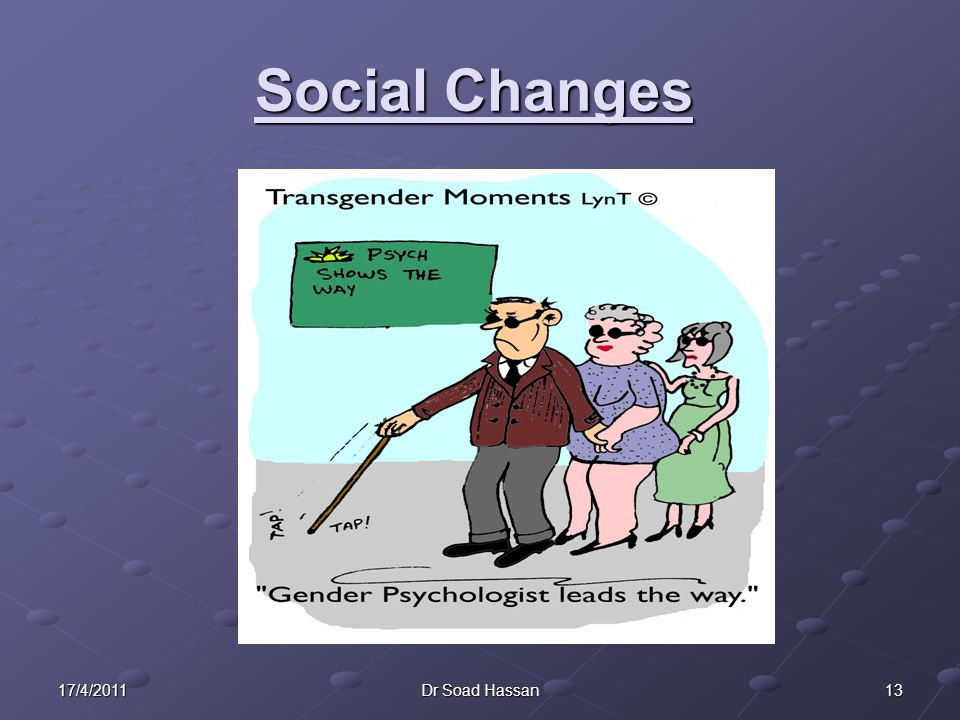 Social Changes 17/4/2011 Dr Soad Hassan