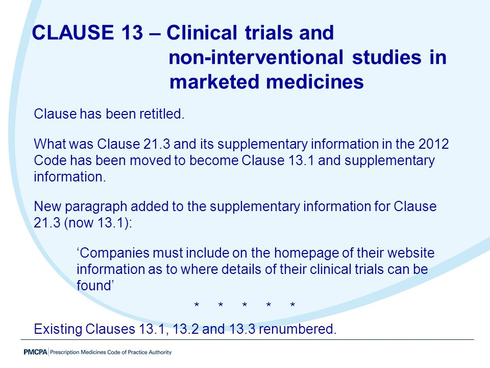 non-interventional studies in marketed medicines