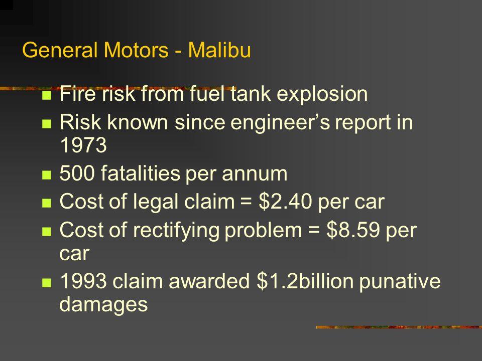 General Motors - Malibu