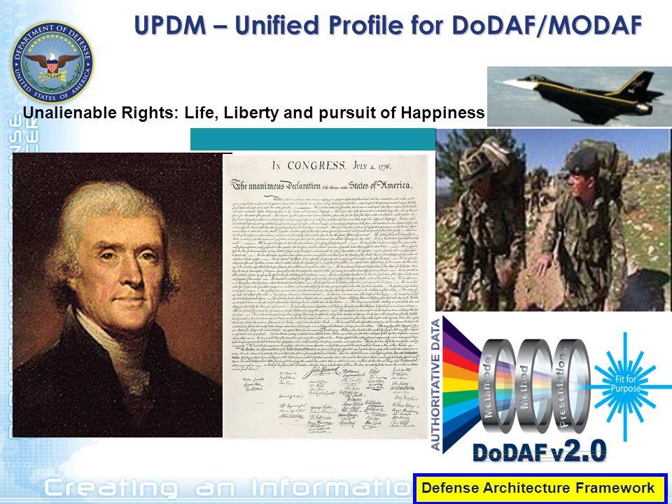 UPDM – Unified Profile for DoDAF/MODAF