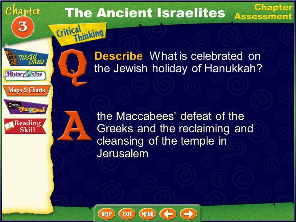 The Ancient Israelites