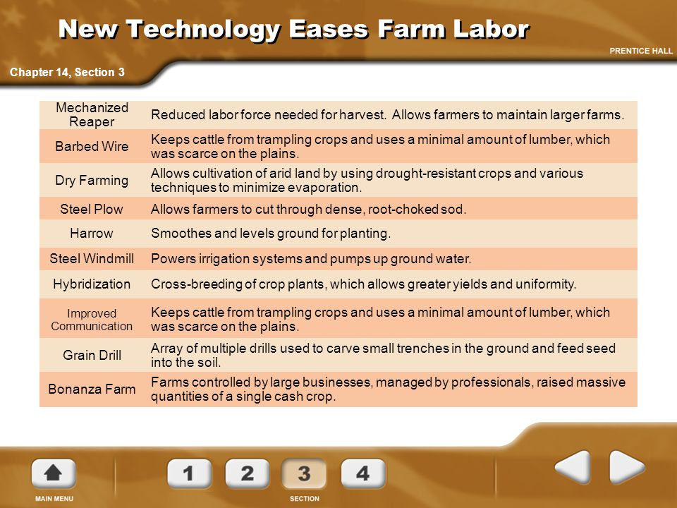 New Technology Eases Farm Labor