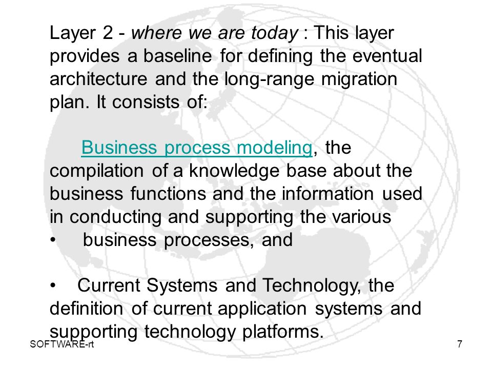 business processes, and
