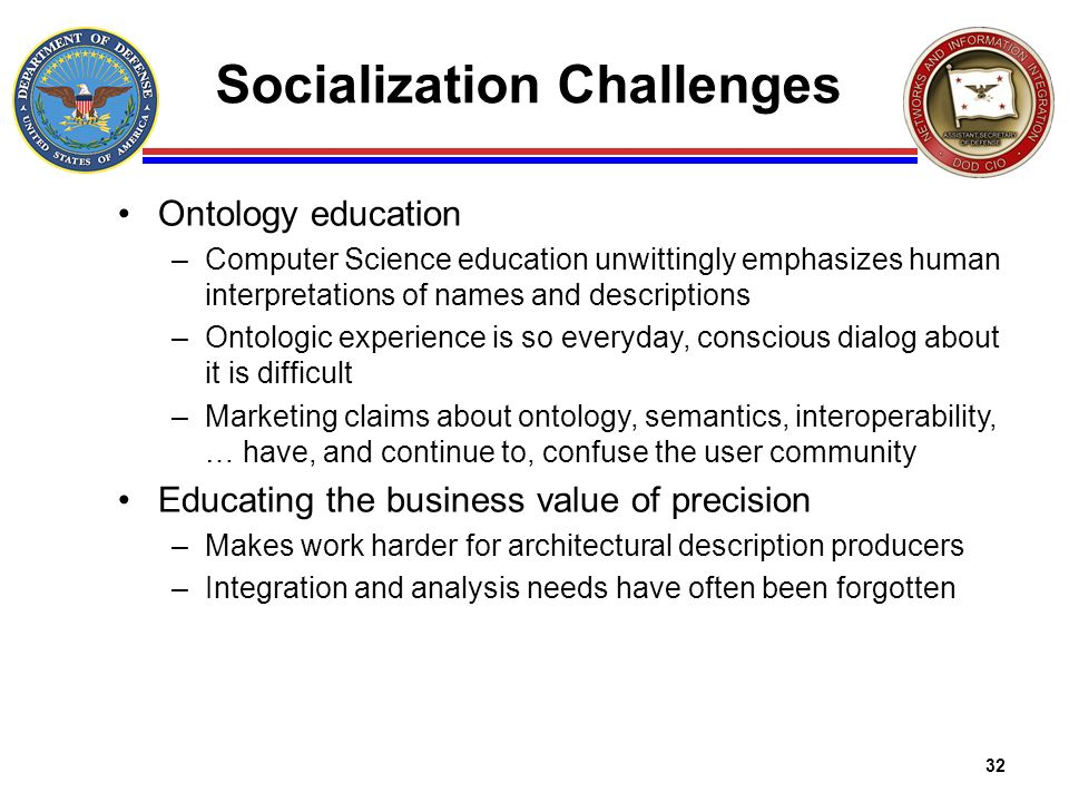Socialization Challenges