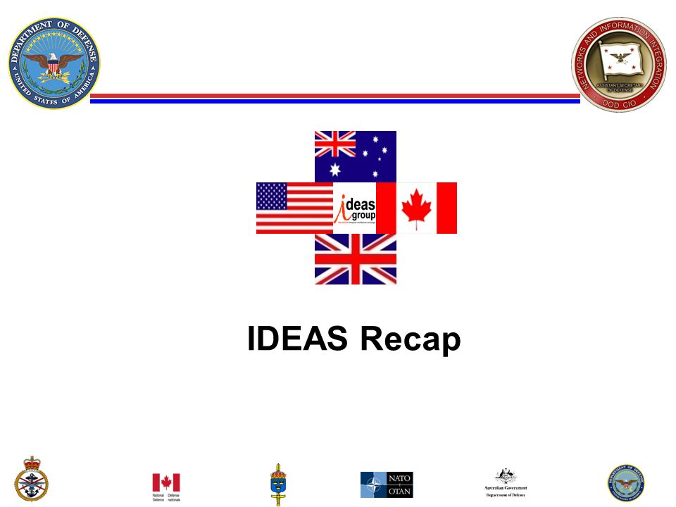 IDEAS Recap