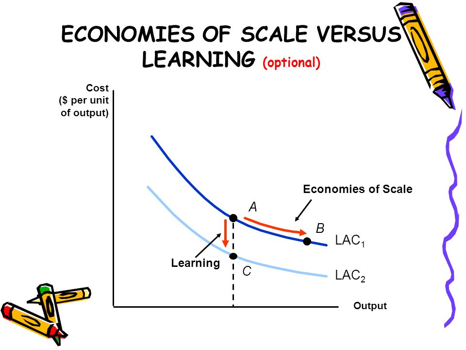 ECONOMIES OF SCALE VERSUS LEARNING (optional)