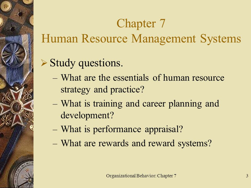Chapter 7 Human Resource Management Systems