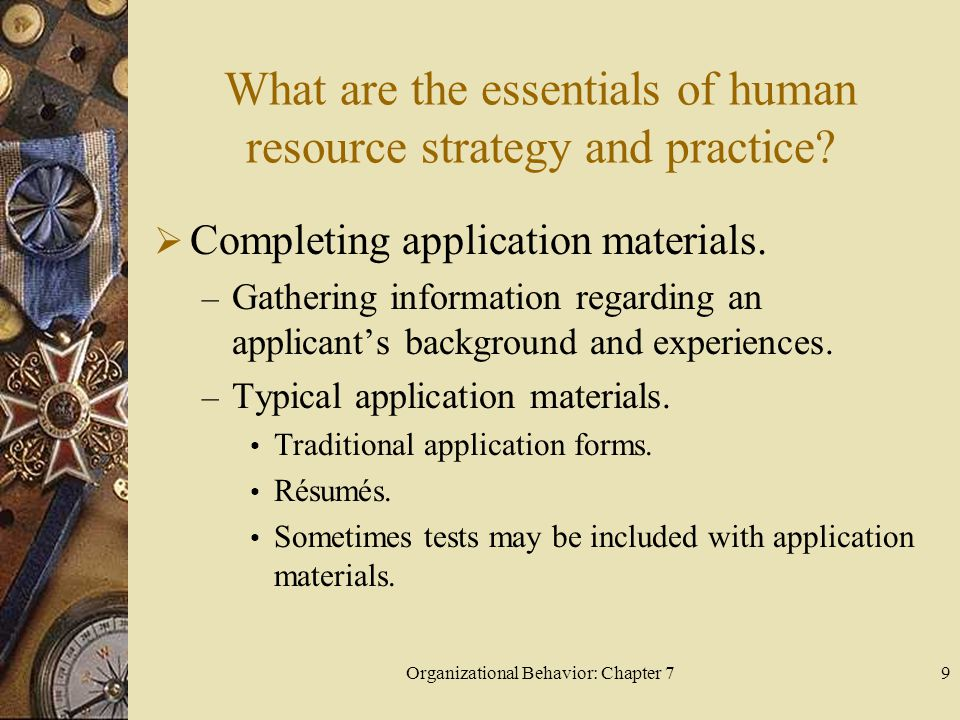 What are the essentials of human resource strategy and practice
