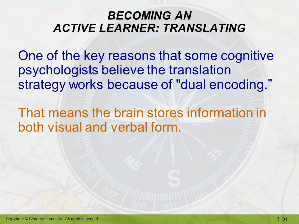 BECOMING AN ACTIVE LEARNER: TRANSLATING