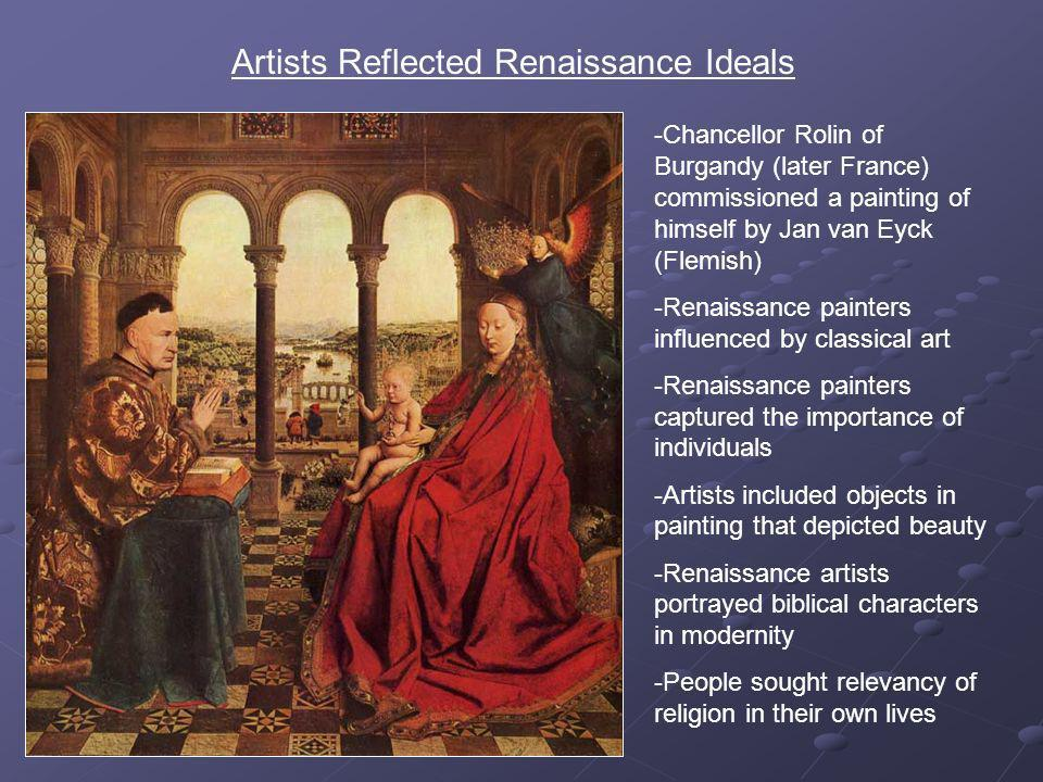 "idealism in renaissance art Humanism - humanism and the visual arts: humanistic themes and techniques were woven deeply into the development of italian renaissance art conversely, the general theme of ""art"" was prominent in humanistic discourse."