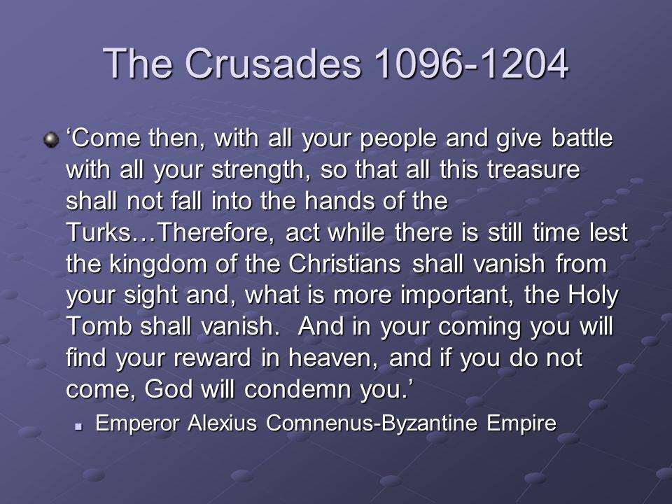 The Crusades 1096-1204