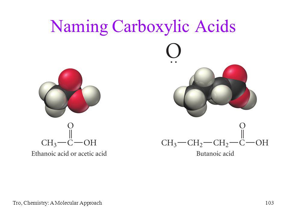 Naming Carboxylic Acids