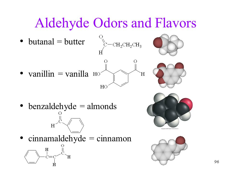 Aldehyde Odors and Flavors