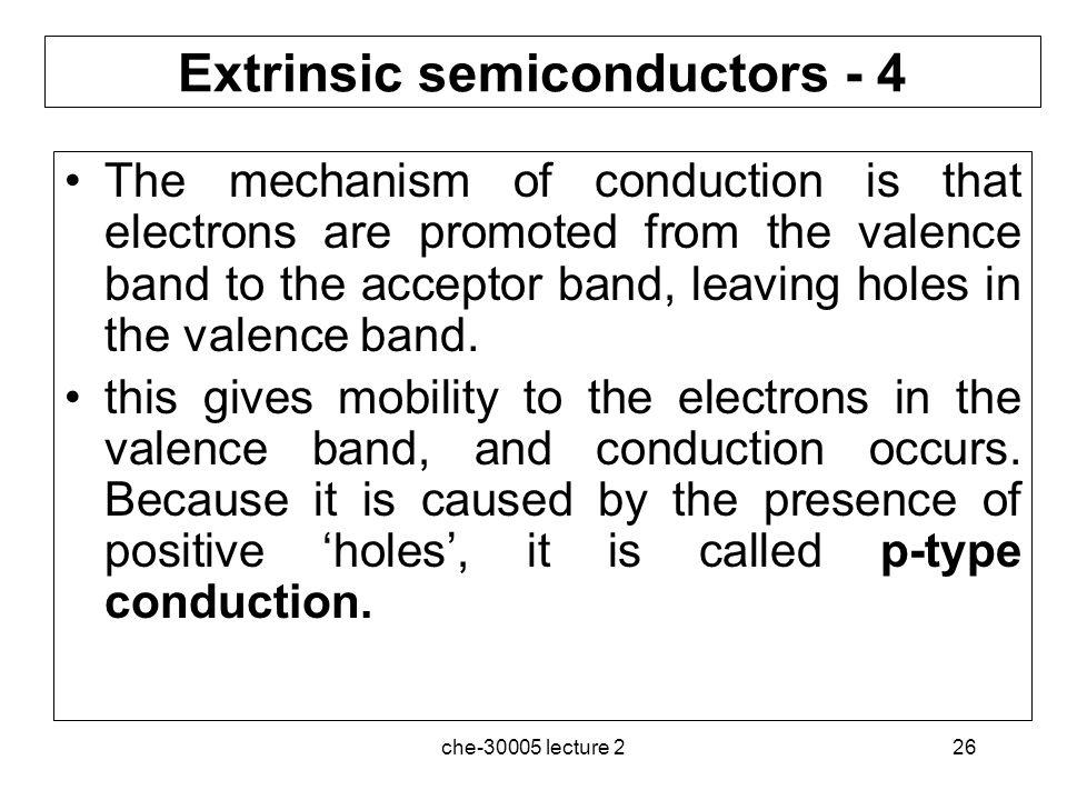 Extrinsic semiconductors - 4