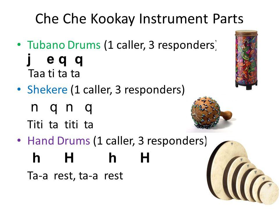Che Che Kookay Instrument Parts