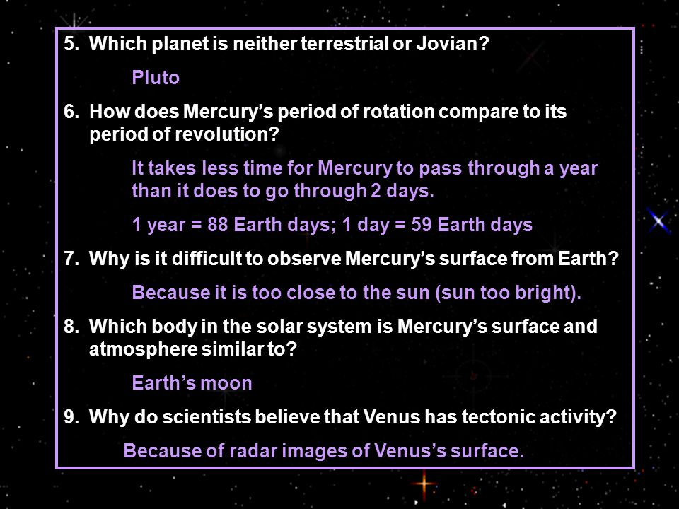 Which planet is neither terrestrial or Jovian