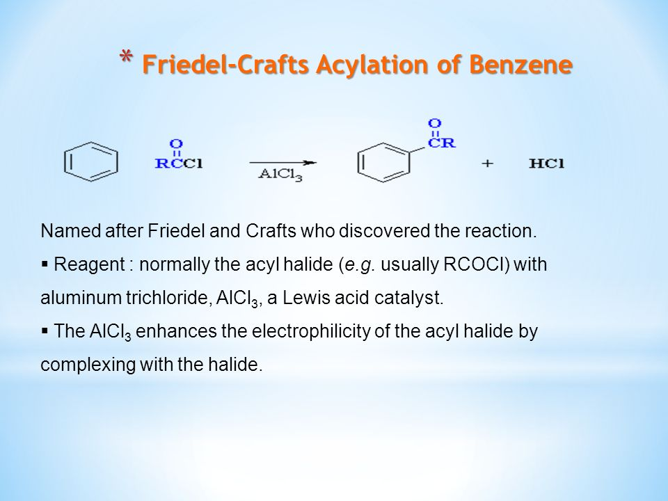 Friedel-Crafts Acylation of Benzene