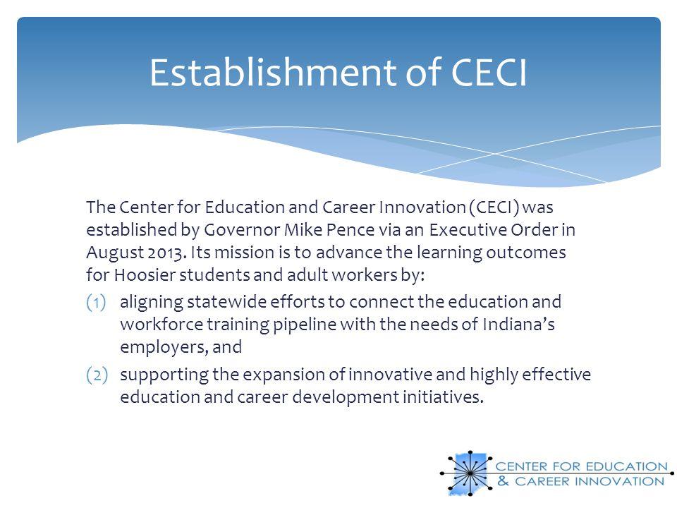 Establishment of CECI