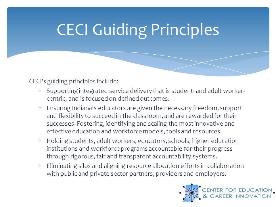 CECI Guiding Principles
