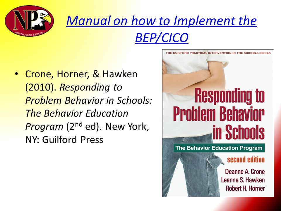 Manual on how to Implement the BEP/CICO