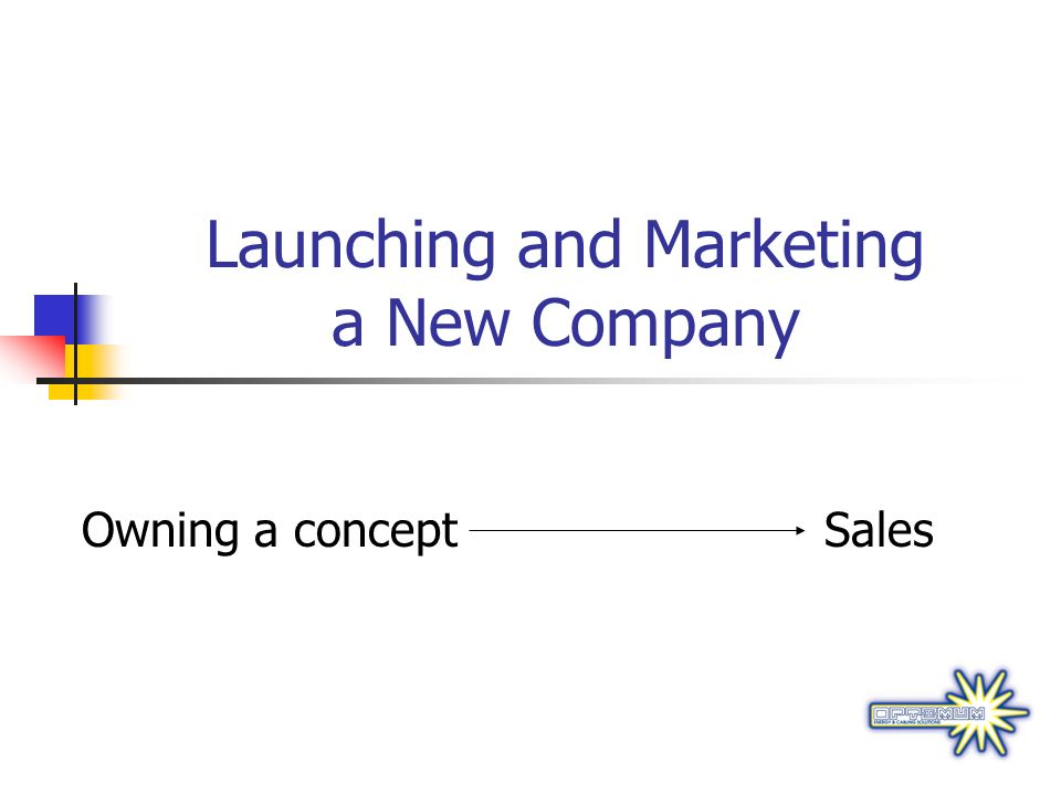 Launching and Marketing a New Company