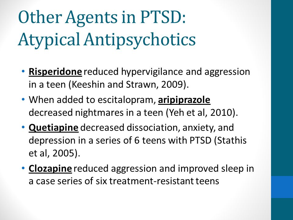 Other Agents in PTSD: Atypical Antipsychotics