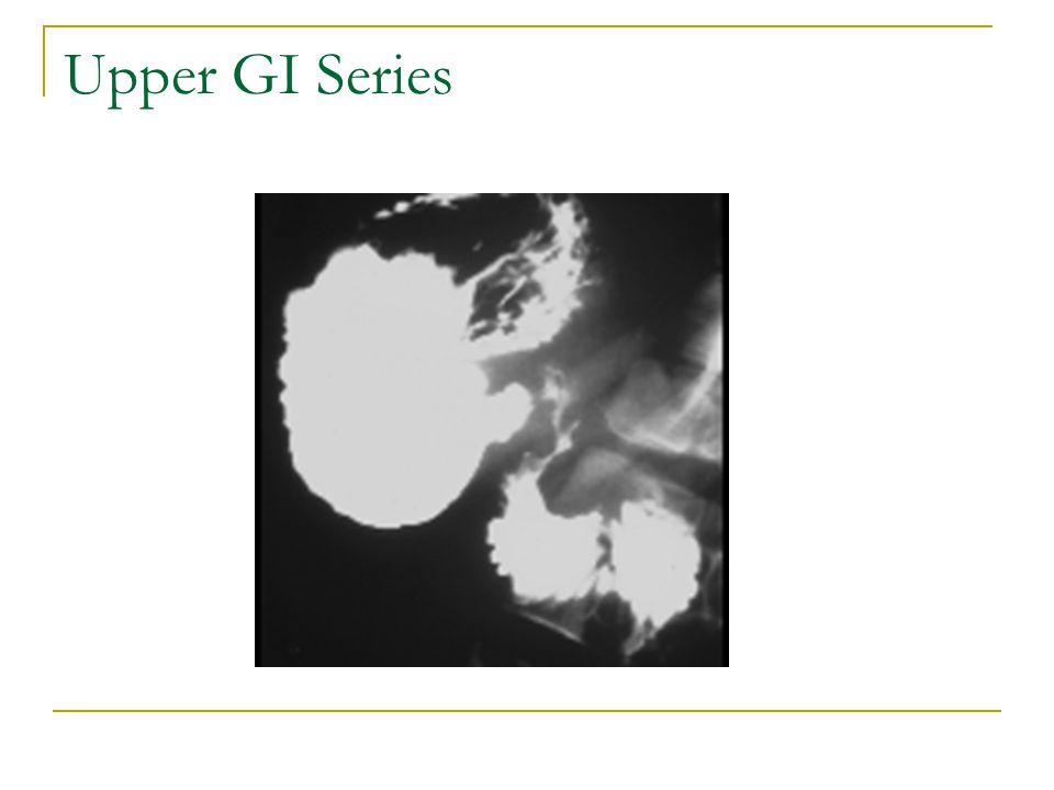 Upper GI Series