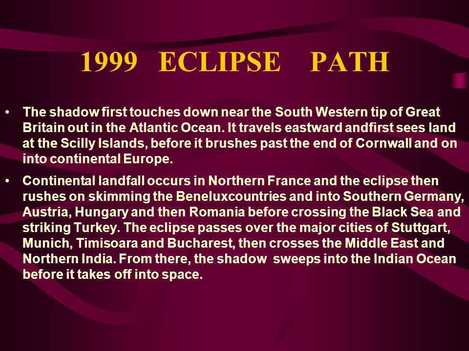 1999 ECLIPSE PATH