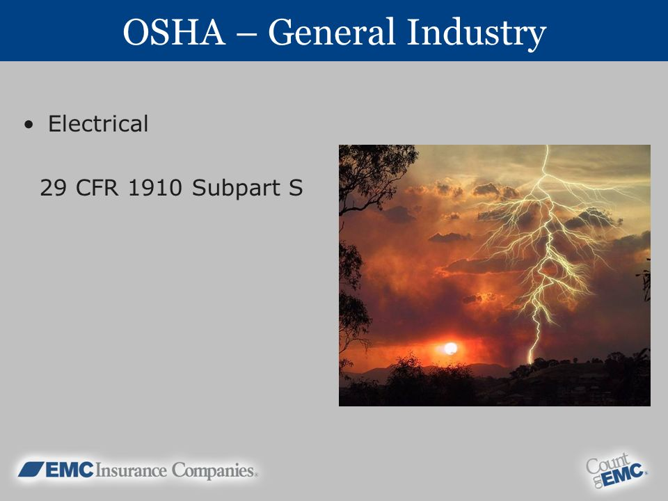 OSHA – General Industry