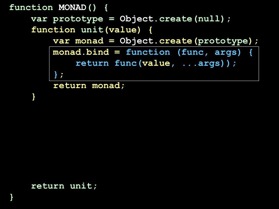 function MONAD() { var prototype = Object