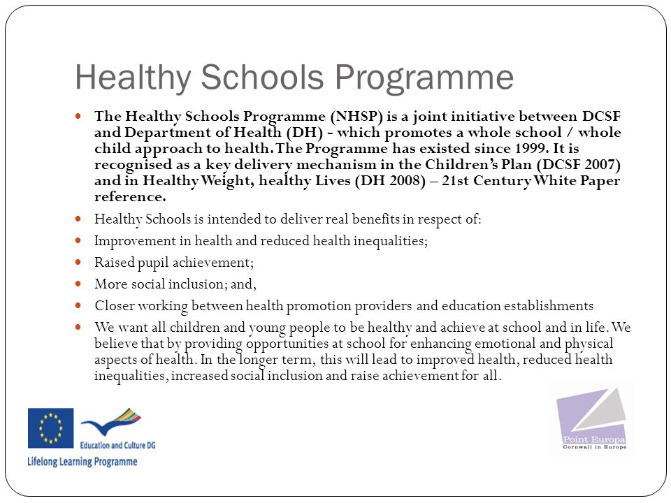 Healthy Schools Programme