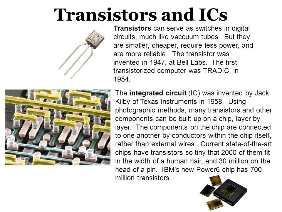 Transistors and ICs