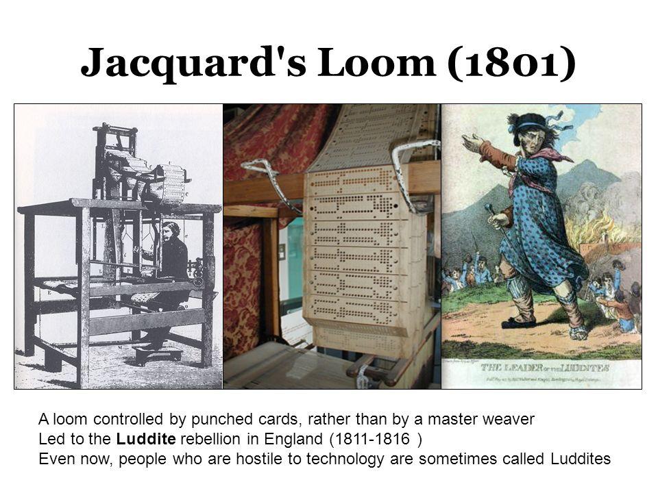 Jacquard s Loom (1801)