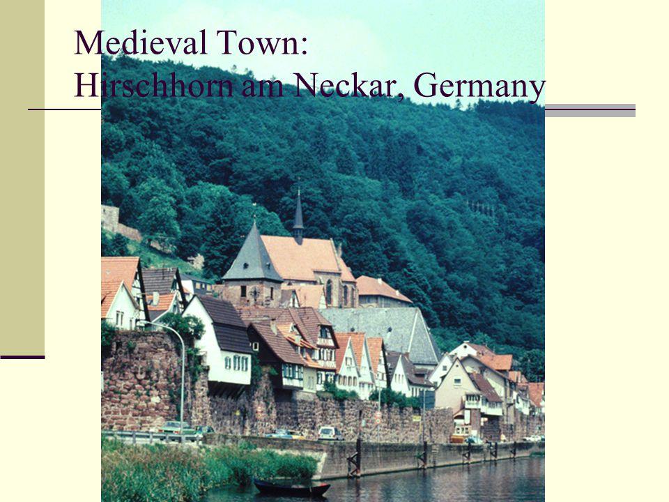 Medieval Town: Hirschhorn am Neckar, Germany