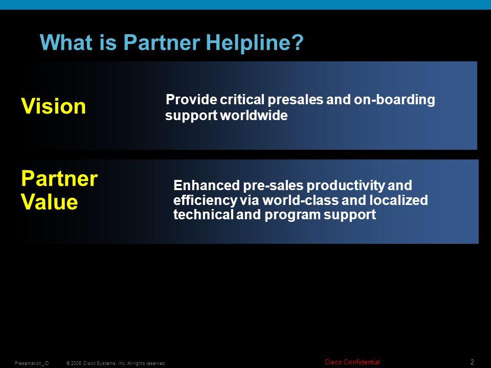 What is Partner Helpline