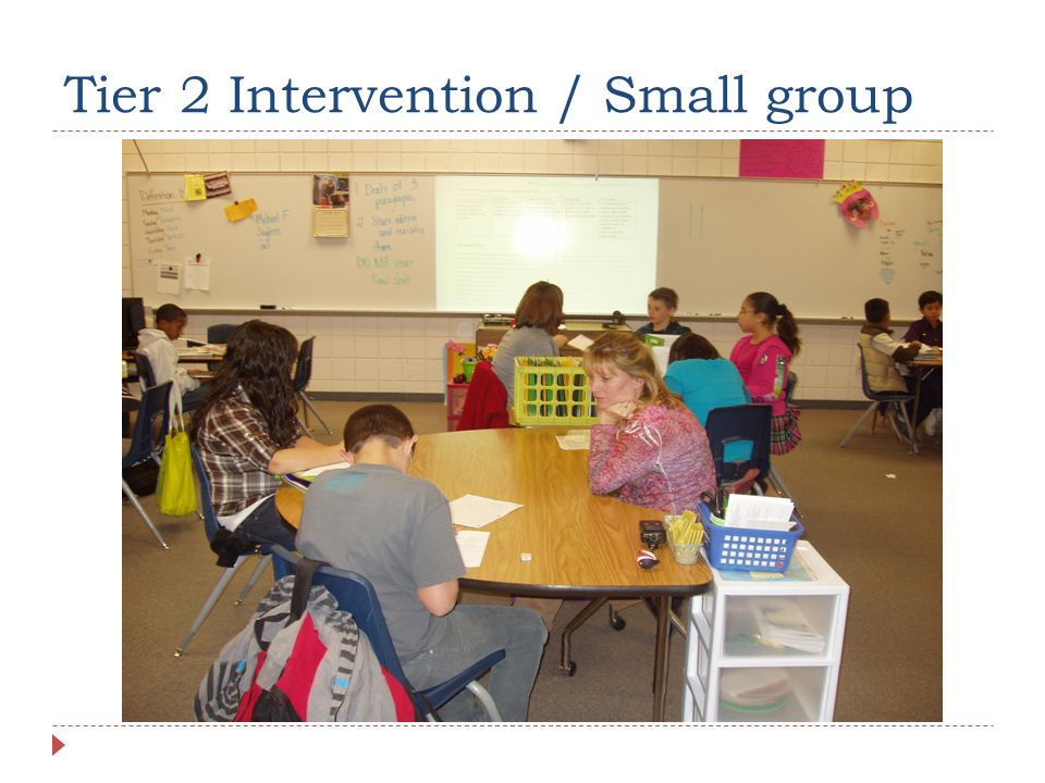 Tier 2 Intervention / Small group