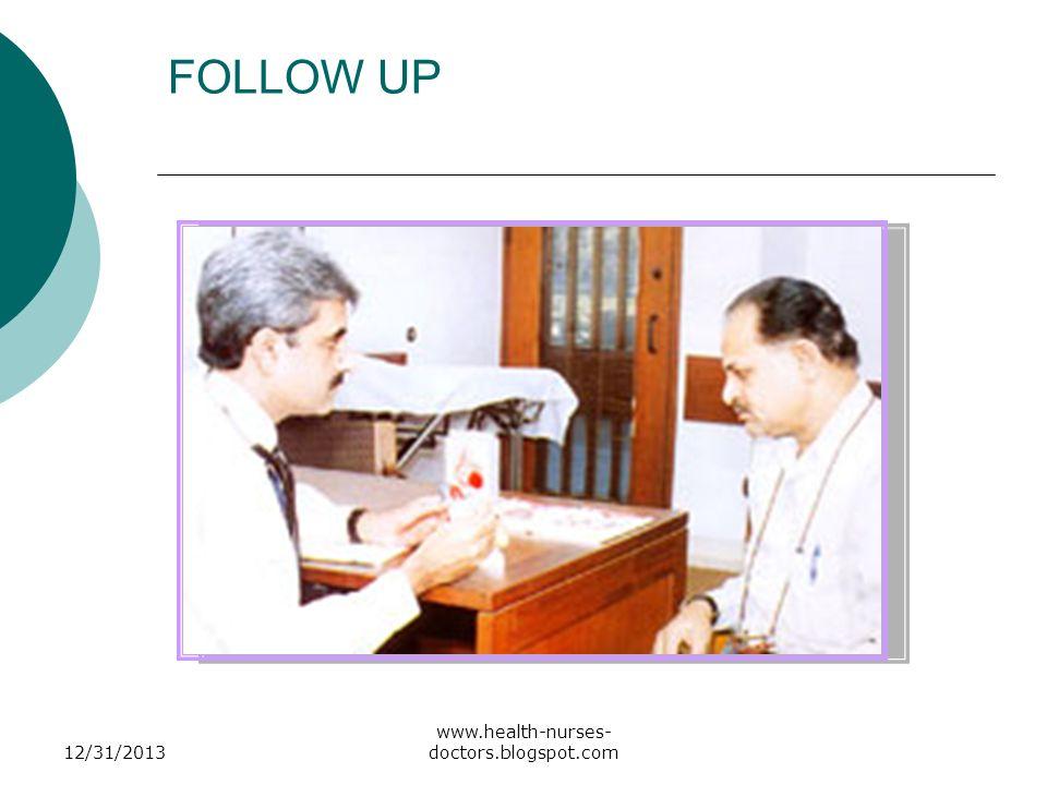 FOLLOW UP 3/25/2017 www.health-nurses-doctors.blogspot.com